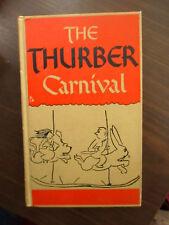 Vintage The Thurber Carnival by James Thurber - Harper & Brothers - 1945 NODJ HC