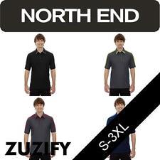 North End Mens Pique Performance Polo Shirt. 88648