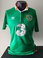 MAGLIE EIRE IRLANDA SHIRT IRELAND HOME SHIRT 2016 JERSEY IRELAND TRIKOT TG L