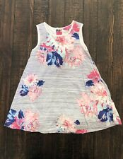 Joules Toddler Girl Floral Dress Lined Size 12-18 Months