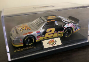1996 Rusty Wallace #2 Miller 25 Years of Racing Silver Ford Thunderbird 1/24