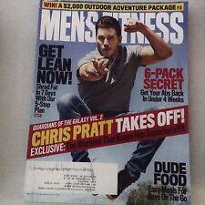 Men's Fitness Magazine Chris Pratty Guardians Galaxy May 2017 061717nonrh2