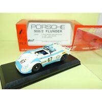 PORSCHE 908 02 FLUNDER N°67 LE MANS 1972 BEST 9110 1:43