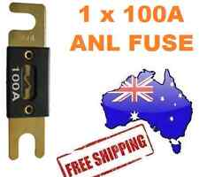 1 x 100AMP ANL Fuse for Dual Battery & Amplifier Wiring Kit Fuse Holders 100 A