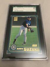 2001 Topps Ichiro Suzuki Rookie #726 SGC 96 Mint 9