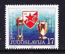 Yugoslavia 1992 Red Star Belgrade Eur.champ. football 1v ** mnh (B100)