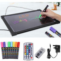 Sensory LED Light Up Drawing Writing Board Toy Special Needs Autism ADHD 30x40cm