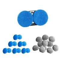 12Pcs Window Cleaning Car Glass Brush Pad Cleaner for Hobot 188, 168 robot