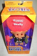 #9944 NRFB Galoob Target Stores Treasure Trolls Skelly Halloween Special Edition