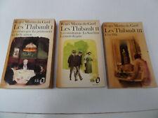"""lot de 5 livres Folio """"Les Thibault"""" tomes 1 à 5 Roger Martin du Gard"""