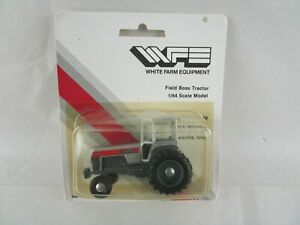 WFE White 2-135 Tractor, First Edition 1/64 Scale Model  White-New Idea