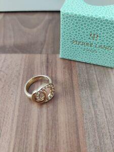 Goldener Pierre Lang Ring