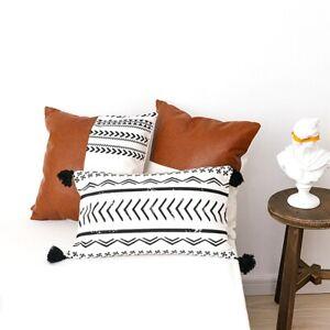 Boho Soft Decorative Modern Pillow Sham Cushion Cover Throw Pillow Pillowcase