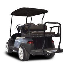 MadJax Rear Seat Club Car Ds Genesis 250 Flip Standard Black Cushions