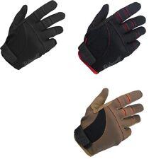 Biltwell Moto Motorcycle Gloves - Black Red Orange/Brown - BMX Dirt Cafe Racer