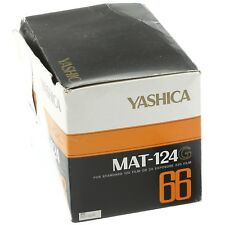 Yashica MAT-124G Medium Format Camera Mint Condition