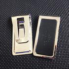 Metal Slim Silver Money Clip Credit Card Stainless Steel Pocket Holder