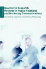 Qualitative Research Methods in Public Relations and Marketing Communications...