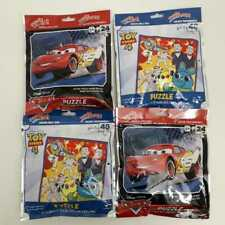 4 New 48 and 24 Pc Puzzles On The GO Disney-Pixar Toy Story and Cars Reseal bags