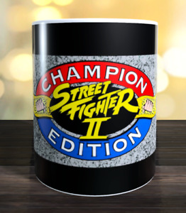 Street Fighter 2 championship edition retro arcade game Marquee Mug