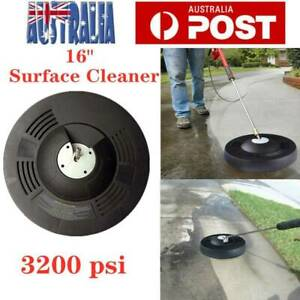 """16"""" High Pressure Surface Cleaner 1/4"""" Quick Connector Pressure Washer 3200psi"""
