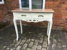 Pretty Ivory French Country Style Dressing Table