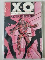 X-O MANOWAR RETRIBUTION TPB COLLECTION VALIANT FACTORY SEALED with DATABASE #1