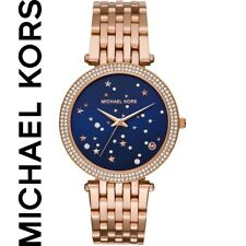 MICHAEL KORS MK3728 WOMENS ROSE GOLD WATCH DARCI - BRAND NEW IN BOX WITH TAGS