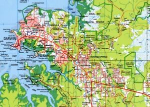 Android Detailed Australia-wide Topographic Digital Maps & OziExplorer on 8GB C