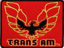 PONTIAC TRANS AM FIREBIRD EMBROIDERED IRON ON PATCH vintage muscle car hot rod