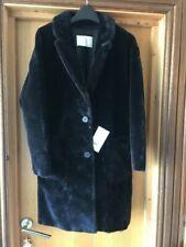 Zara Faux Fur Outer Shell Black Coats, Jackets & Waistcoats for Women