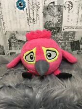 Angry Birds Plush CAGED BIRD Hot Pink Stella Rio Pre Owned WITH SOUND