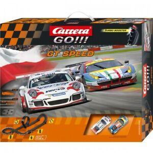 Official Pista Carrera Go GT Speed Scala 1:43 5.4 metri con Turbo Booster