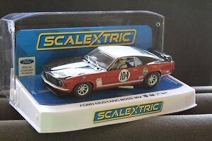 Scalextric Ford Mustang Boss 302 No 104 DPR 1/32 Slot Car #C3926