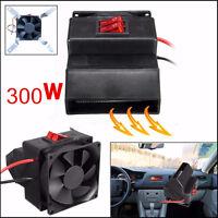 12V 300W Vehicle Car Adjustable Heater Hot Fan Defroster Demister Rapid  Heating
