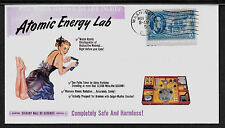 1950s Gilbert Atomic Energy Lab Ad Featured on Collector's Envelope *A532