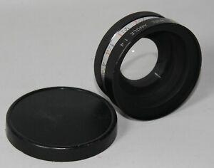 Yashica Yashikor Wide Angle 1:4 Lens - 55mm Screw Mount - Caps