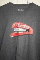 Office Space Red Swingline Stapler Medium Grey T-shirt Size XL