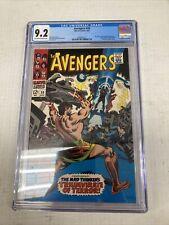 Marvel Comics Avengers 39 CGC Graded 9.2