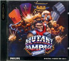 MUTANT RAMPAGE gioco CDI Philips Magnavox CDi game CD-I