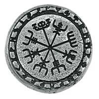 1 Troy oz Silver Viking Symbols MK BarZ .999+ Fine 3D Art Round