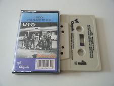 U.F.O. - NO PLACE TO RUN - CASSETTE TAPE - UFO - CHRYSALIS (1980)