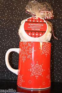 *CHRISTMAS SET*MUG/COFFEE CUP*SHOWER GEL*LOTION*BATH POOF*SNOWFLAKES*NEW*