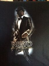 Neyo Year Of The Gentleman Tour Shirt Adult Small Rap
