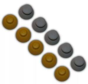 10 GameCube Controller Rubber Joystick / Thumbstick Caps Replacement (5 Sets)