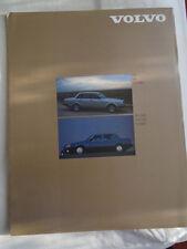 Volvo 240 & 700 Series range brochure Aug 1984 USA market