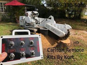Carlton Stump Grinder Wireless Radio control kit! Track Width model