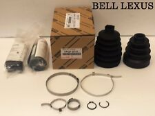 LEXUS OEM FACTORY DRIVERS FRONT AXLE CV BOOT KIT 2010-2013 IS250 IS350 AWD