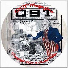 QST Magazine on DVD Ham Wireless Crystal Radio Antenna Headset Amateur