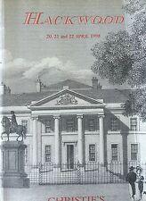 Christie's  Hackwood Property of Estate of 2nd Viscount Camrose April 20-22 1998